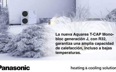Con Aquarea, hasta el 80% de la energía térmica requerida se obtiene del aire exterior