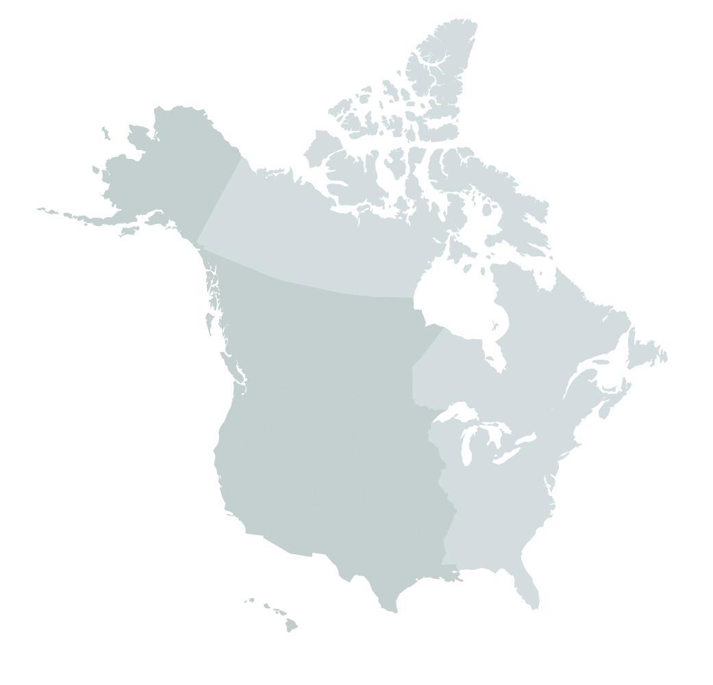 PCB territory map