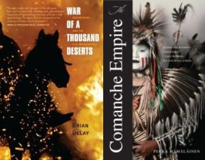 War of a Thousand Deserts-Comance Empire covers
