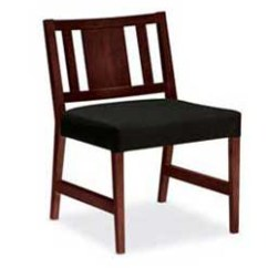 Hon Invitation Guest Chair Antique Rocking Value Cambia Model H2153 W Wood Panel Back Armless Porter S Office Products
