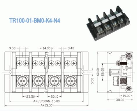 High Temperature Terminal Connectors Heavy Duty Connectors