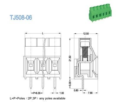 12 Awg Terminal Block Base Block Wiring Diagram ~ Odicis