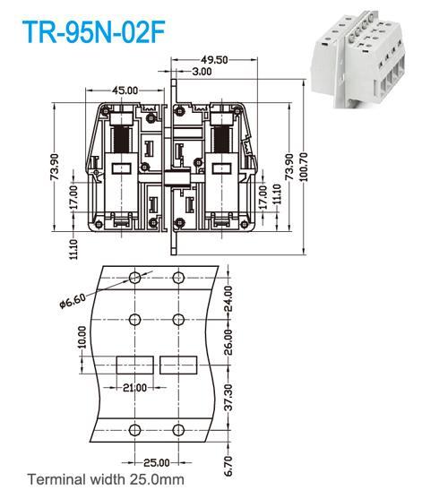 terminal block wiring lighting