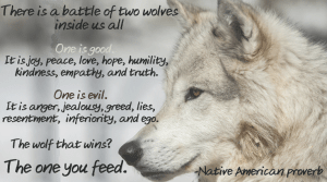 which wolf do you feed?