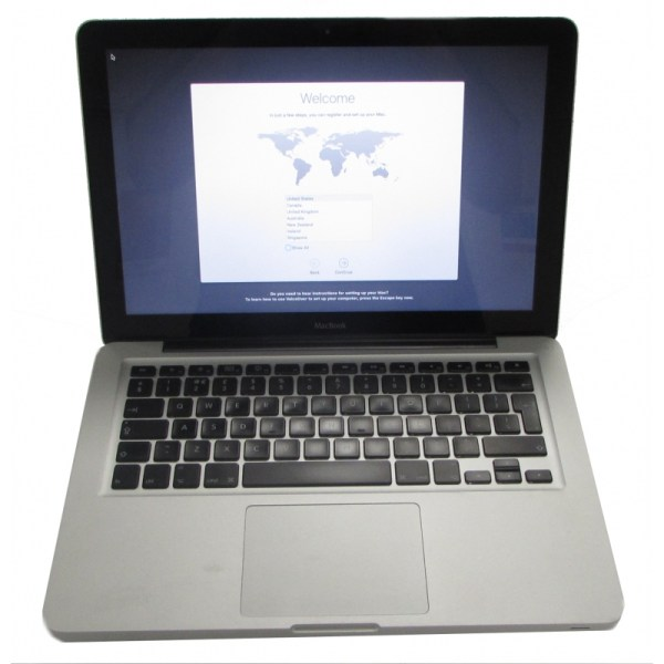 """Apple Macbook 13"""" A1278 C2d 2ghz 4gb 320gb Hdd Os X El"""