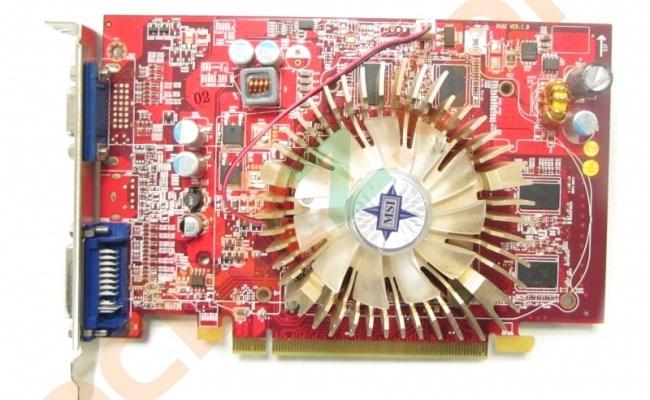 Msi V162 R4650 D512 512mb Radon Hd 4650 Vga Dvi Pci E