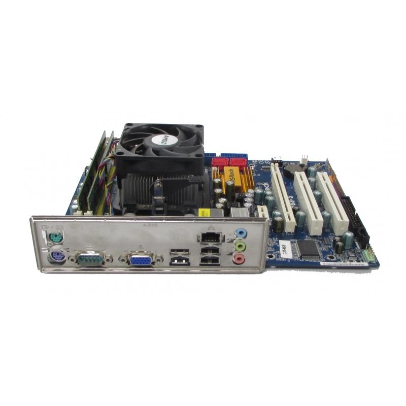 ASRock N68-S Socket AM2+ AM3 Motherboard, Athlon II x2 245, 4GB DDR2 Bundle Motherboards