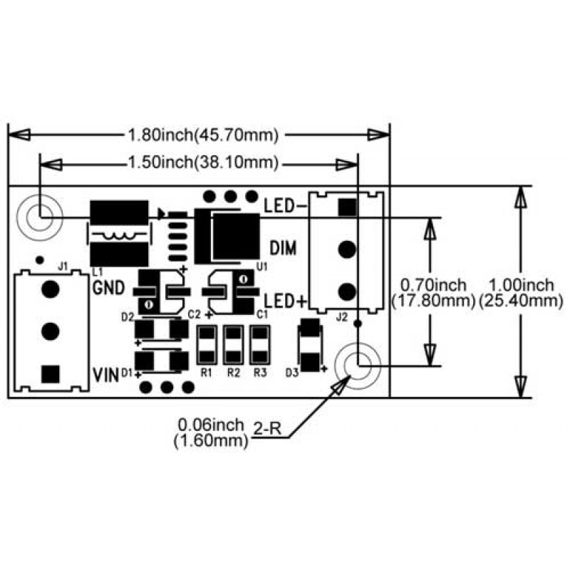 Simple Led Driver Wiring Diagram. Heat Sink Wiring Diagram