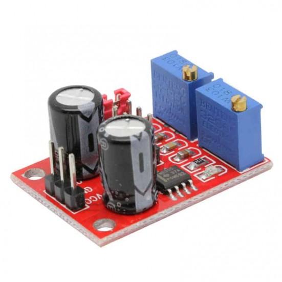 Square Wave Generator Using 555 Timer Circuit