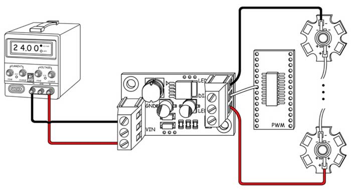 5W High Power LED Driver