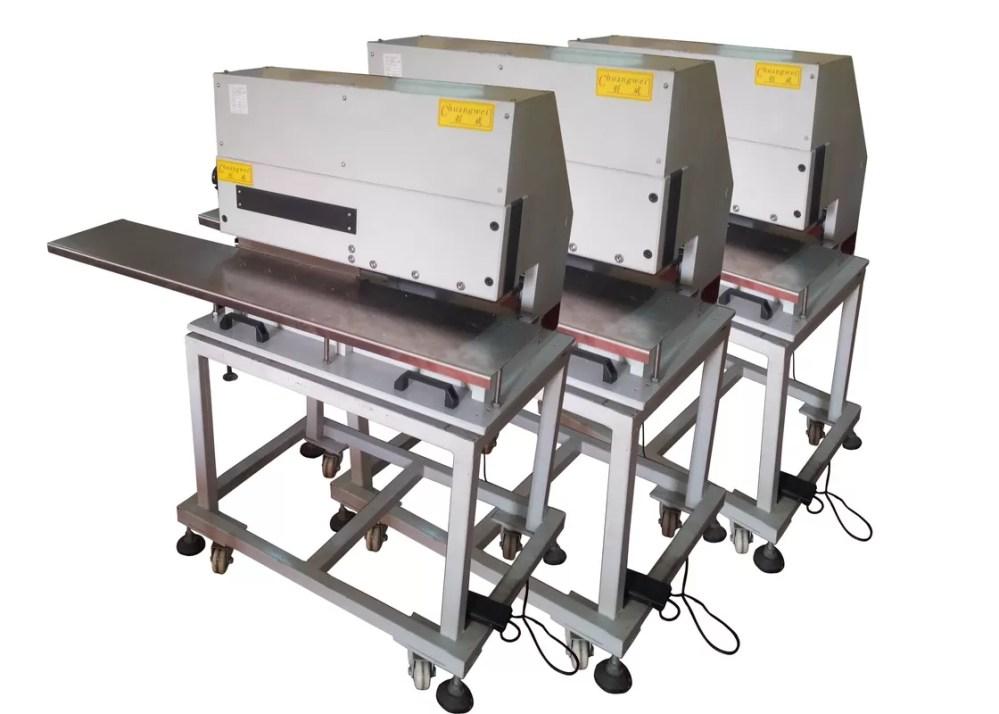 medium resolution of circuit board depaneling machine for fr2 motorized pneumatic vcut