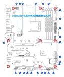 Das Asus ROG STRIX X470-F Gaming. (Bild: hardwareluxx/emissary42)