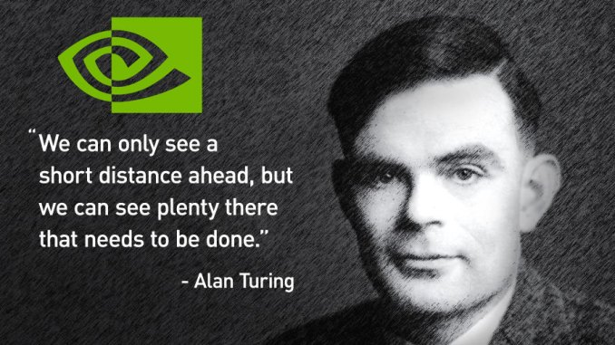 GTX 1180 Nvidia Turing Quote