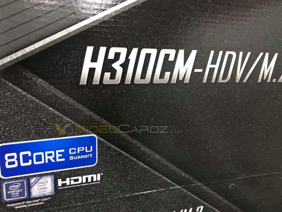 H310 8 Core support leak