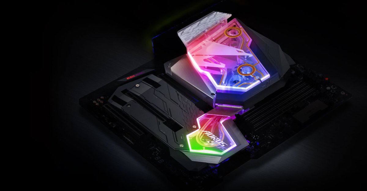 Gigabyte launcht Z390 Aorus Xtreme Waterforce mit integriertem CPU-Monoblock