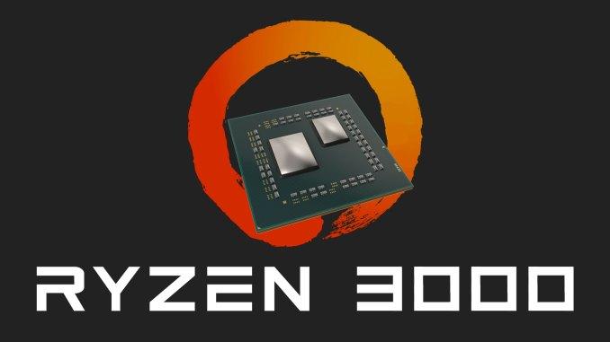 AMD Ryzen 3000 Platine Chiplets