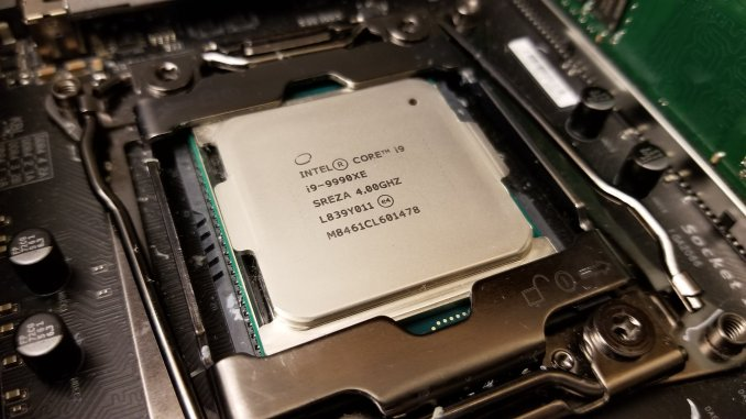 Intel Core i9-9990XE Puget Systems Matt Bach