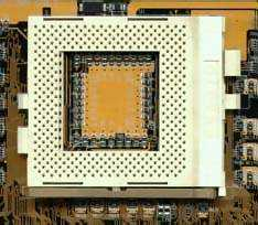 Intel Socket PGA370 processor (CPU) motherboard socket