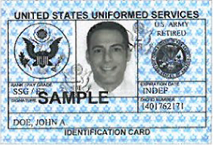 Va Veterans Id Card Infocard Co