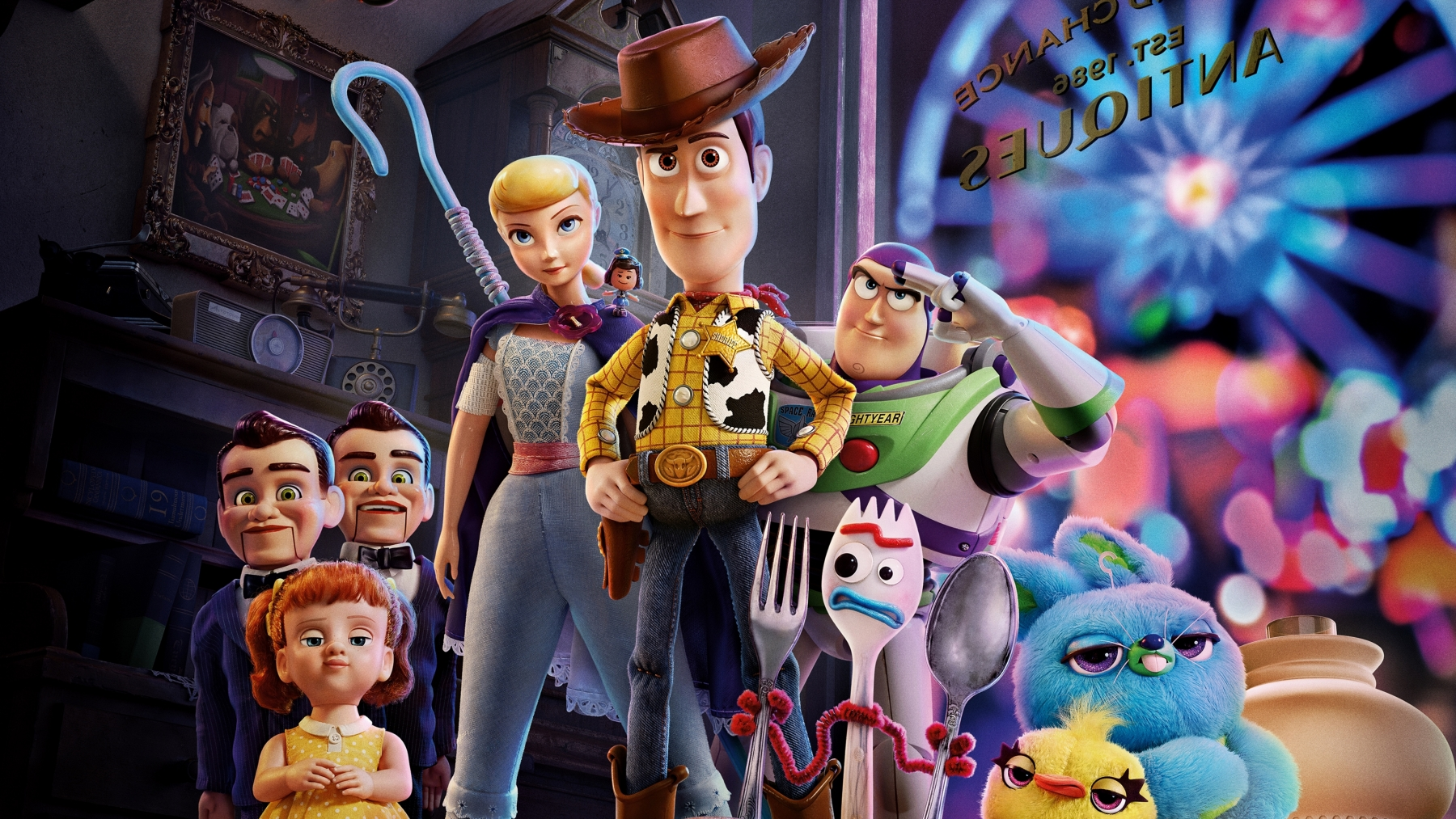Toy Story 4 Hd Wallpaper Collection