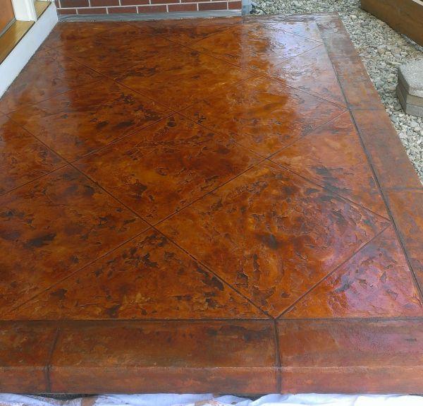 Concrete Flooring - Tuscan Slate Columbus Ohio