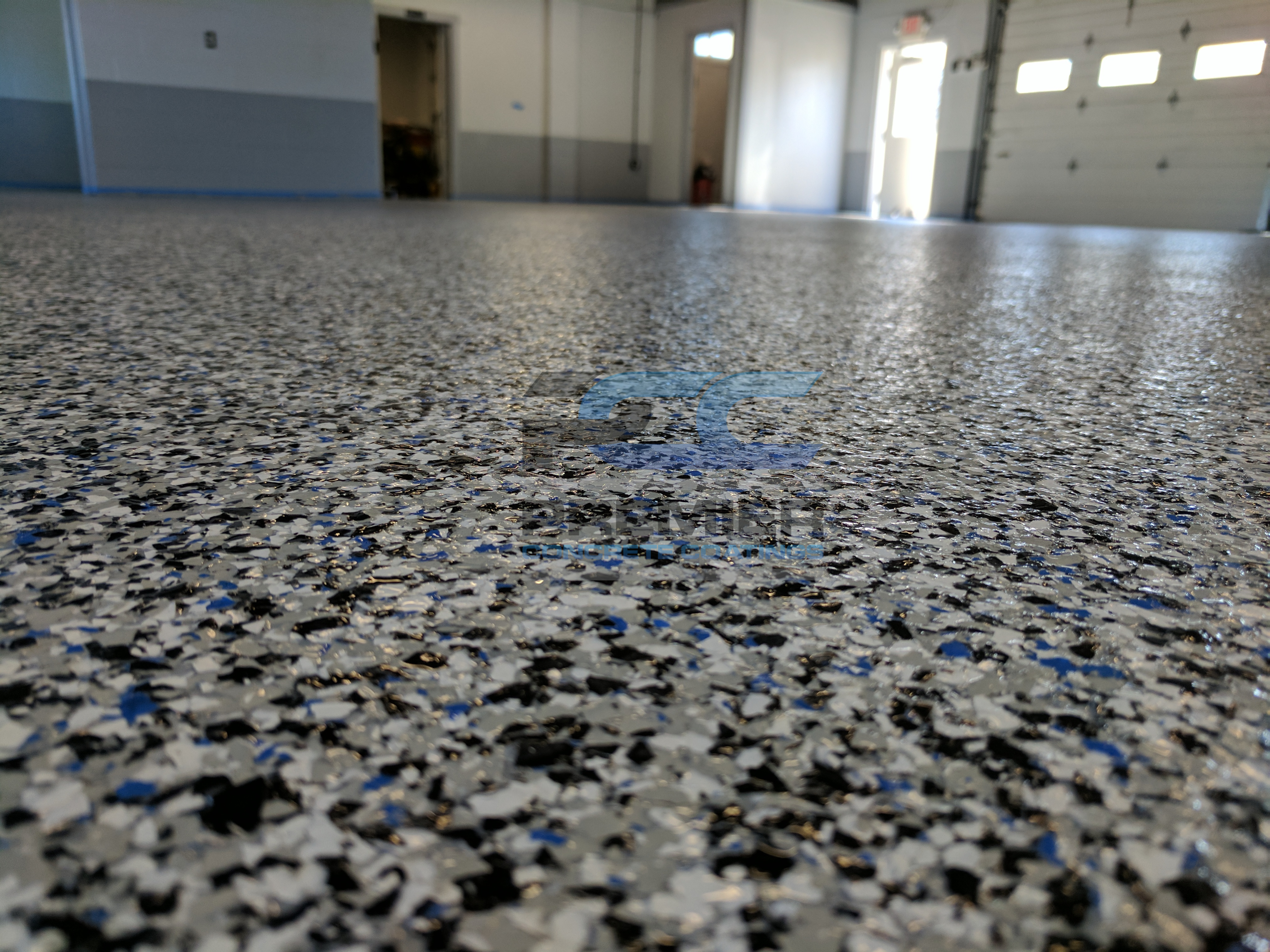 Commercial Epoxy Garage Floor Columbus Ohio Epoxy Flake Floor