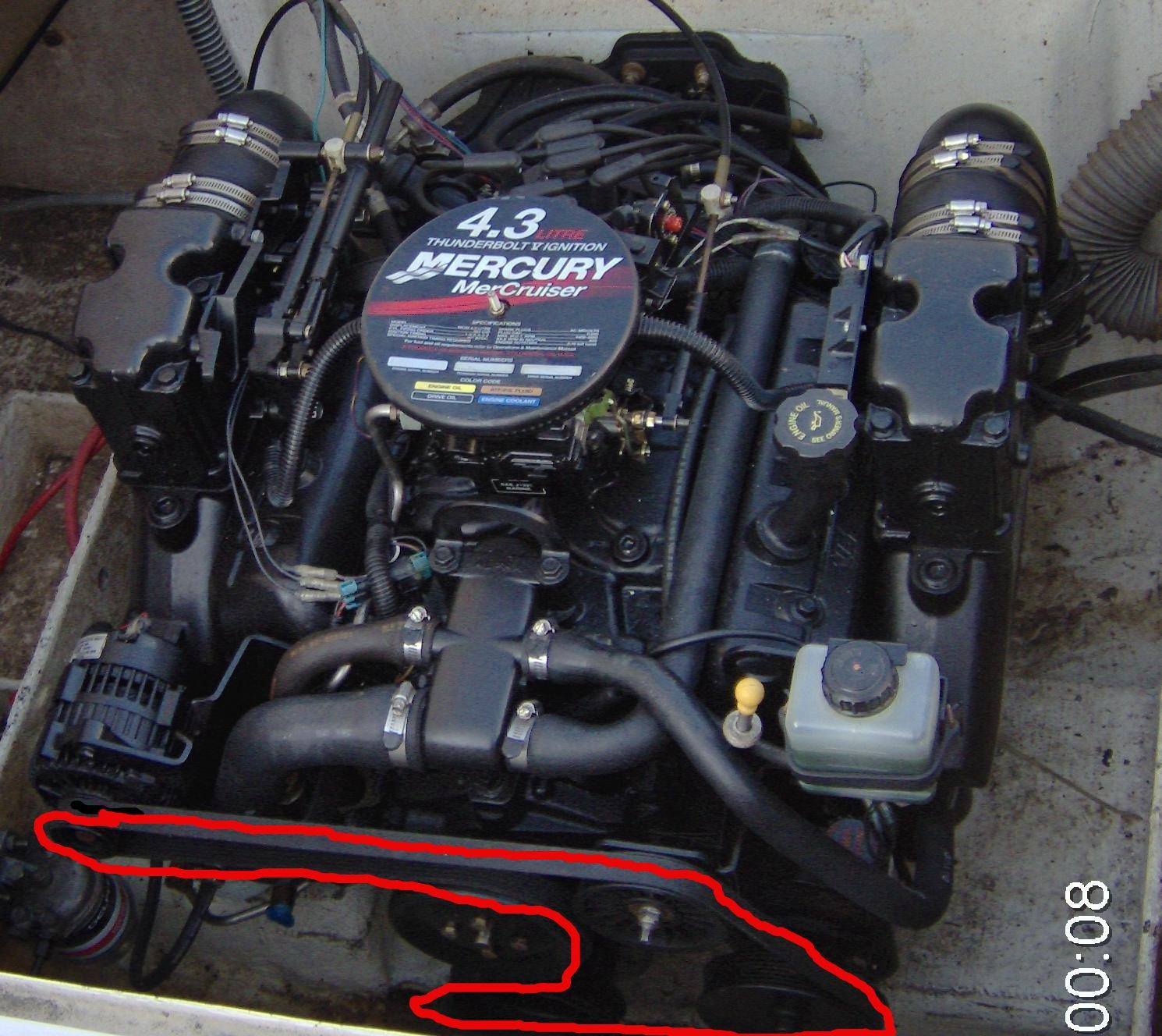 mercruiser 4 3 alternator wiring diagram volvo diagrams xc70 surchauffe v6 discount marine