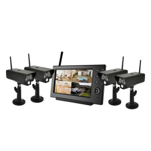 4ch wireless camera