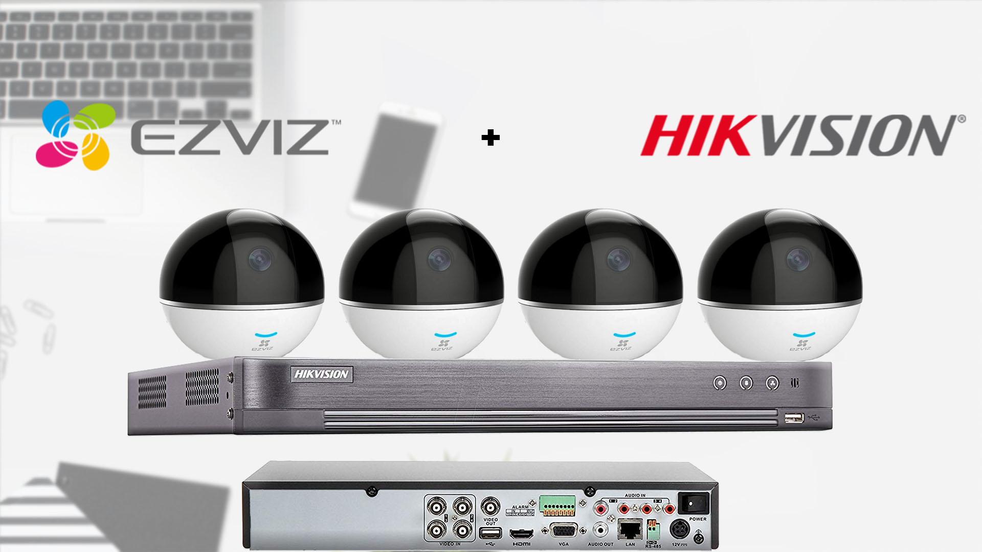 hik+ezviz wireless indoor