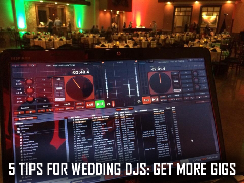 5 Tips For Getting Booked As A Wedding DJ | PCDJ
