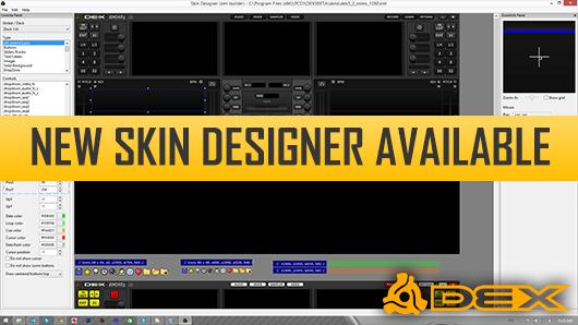 New DJ Software Skin Designer Available For Download   PCDJ