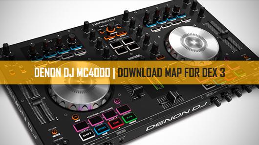 DEX 3 DJ software with MC4000 DJ controller