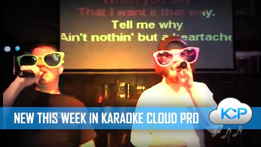 november 2015 karaoke cloud pro releases