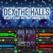 DEX THE HALLS AND GET DEX 3 DJ SOFTWARE FOR 149