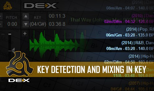 Key mixing in DEX 3
