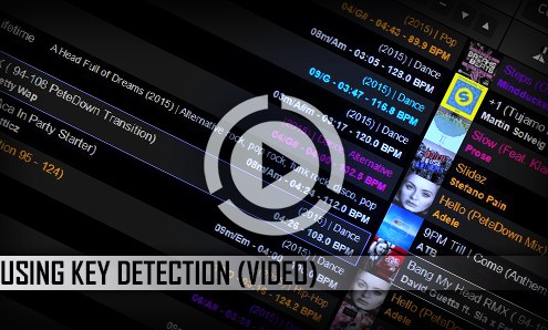 Using Key Detection In PCDJ DEX 3