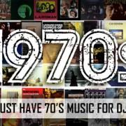 Must play 70's music for Djs Banner