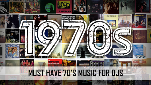Must play 70's music for Djs Banner