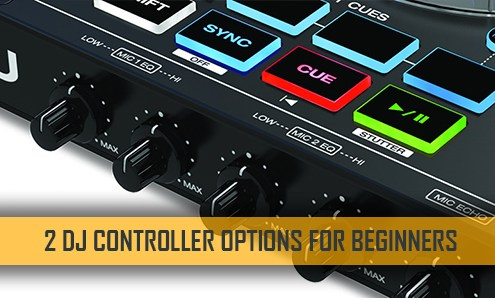 DJ Controllers for Beginners Banner