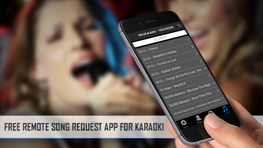 KaraoQuest | Free Karaoke Remote Request App For Karaoki | PCDJ