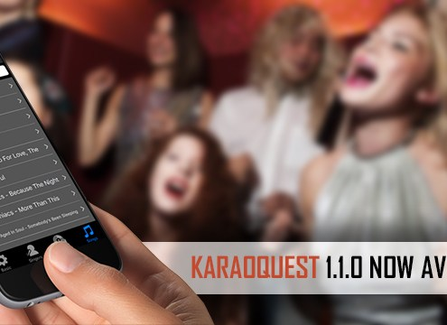 KaraoQuest Mobile Request App Update 1.1.0