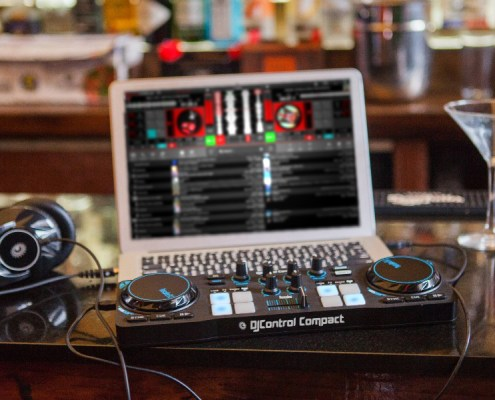 DJ Controllers   Download Hercules DJControl Compact Map For