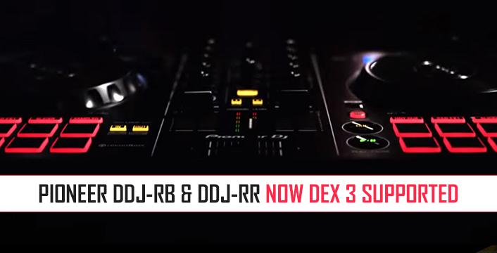 DJ Controllers   Pioneer DDJ-RB and Pioneer DDJ-RR Now DEX 3