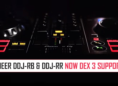 Pioneer DDJ-RB and DDJ-RR Maps for DEX 3