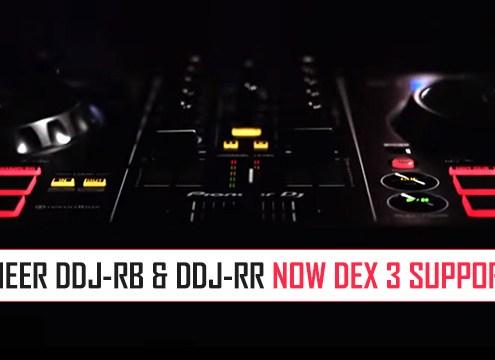 Pioneer DDJ-RB and DDJ-RR Maps for DEX 3
