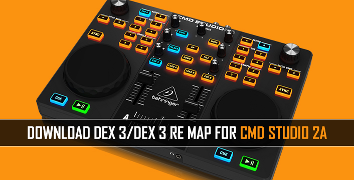 DJ Controllers | Download Behringer CMD Studio 2A Map For