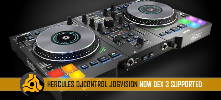 Hercules DJControl JogVision with DEX 3