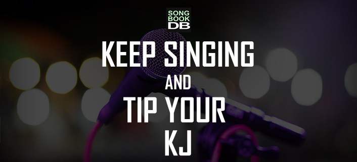 Tip the Karaoke Host with SongbookDB
