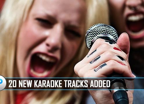 20 New Karaoke Songs Added To Karaoke Cloud Pro 12-19-16
