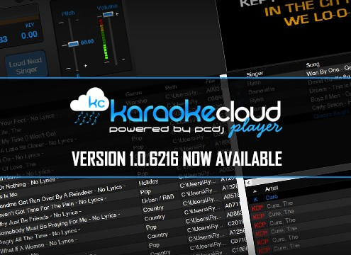 Karaoke Cloud Player update 1.0.6216